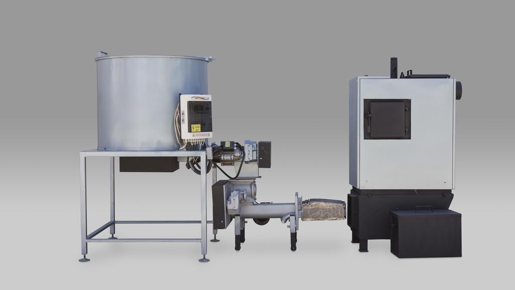 25kW os komplett rendszer 500 literes tartállyal