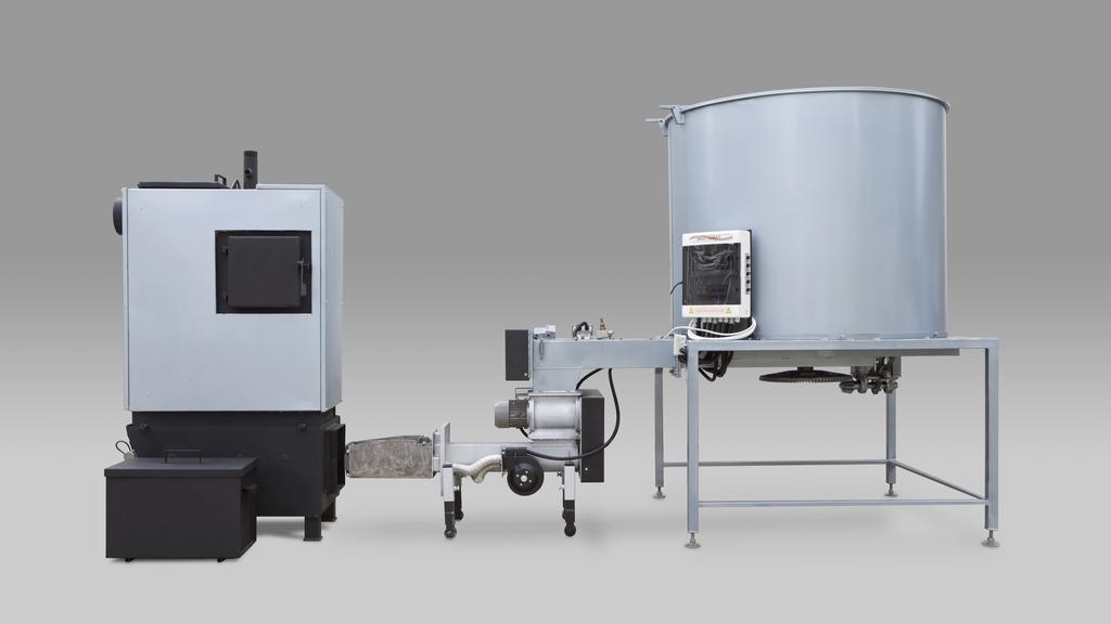 Biottomat 100 kW os komplett rendszer