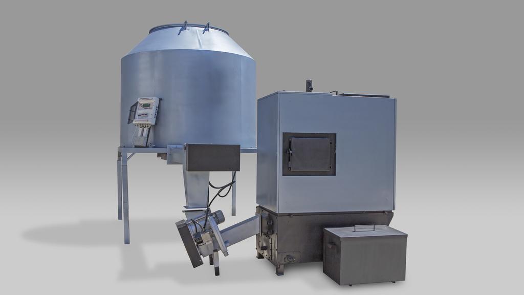 Biottomat 80 kw komplett 4000 literes adagoló
